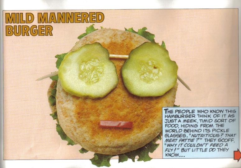 Mild mannered bun by day...