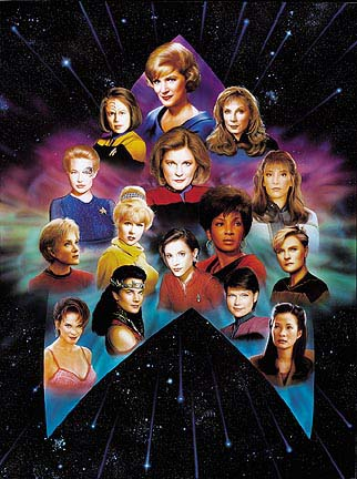 Star-Trek-The-Women-of-Star-Trek-Chromagraph-1