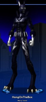 City of Heroes avatar: Hang on the Box