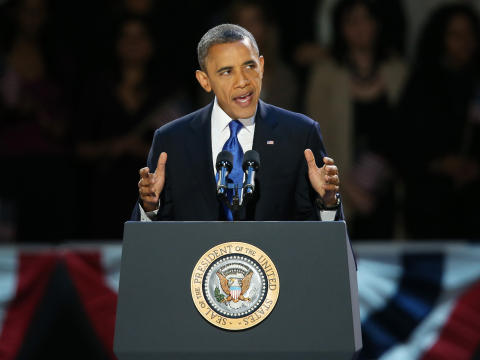 why is barack obams victory speech persuasive Means of persuasion  close user settings menu options.