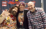 My partner and I with former professional wrestler, current comic book author, and all around social activist, Mick Foley. (C2E2 2014)