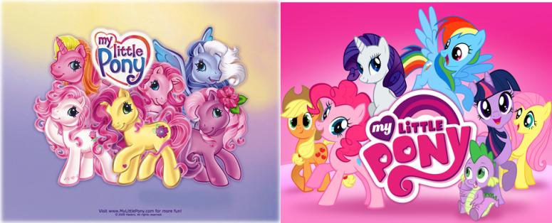 Old New Ponies