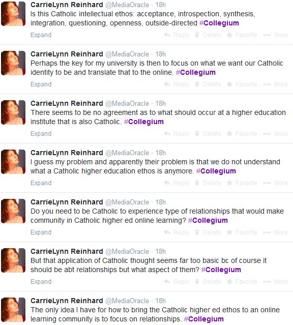 Collegium Tweets 1