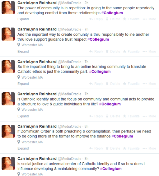 Collegium Tweets 2