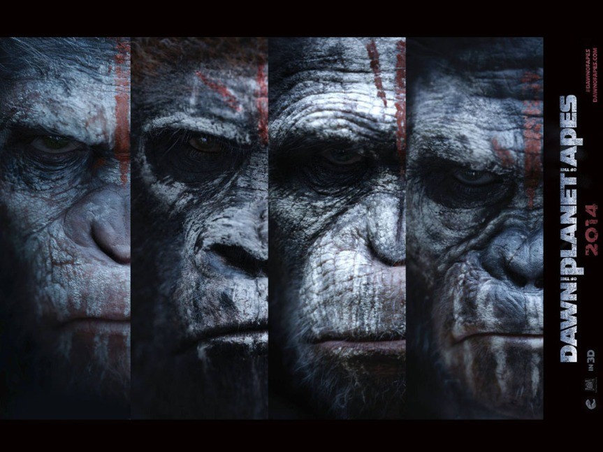 The Humanity in the Planet of the Apes