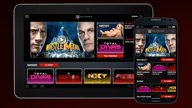 WWE-Network-Streaming-App