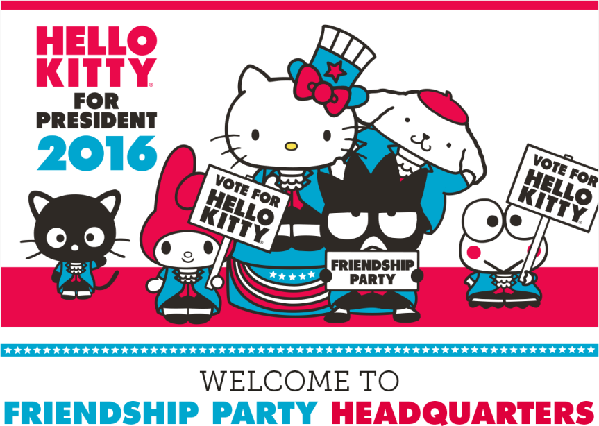 Pop Culture Lens on Hello Kitty